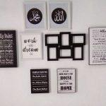 Menata Ruang Tamu Dengan Menambahkan Hiasan Dinding Islami