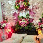 Model Dekorasi Kamar Pengantin Dengan Contoh Hiasan Dari Bunga Yang Romantis