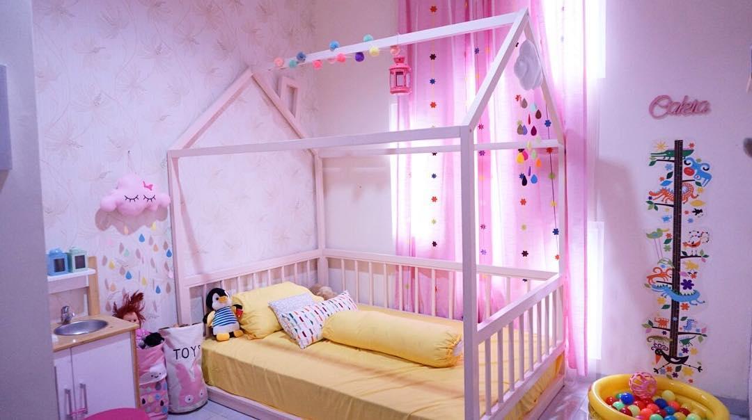 Model Kamar Anak Perempuan Bayi Cewek Terbaru