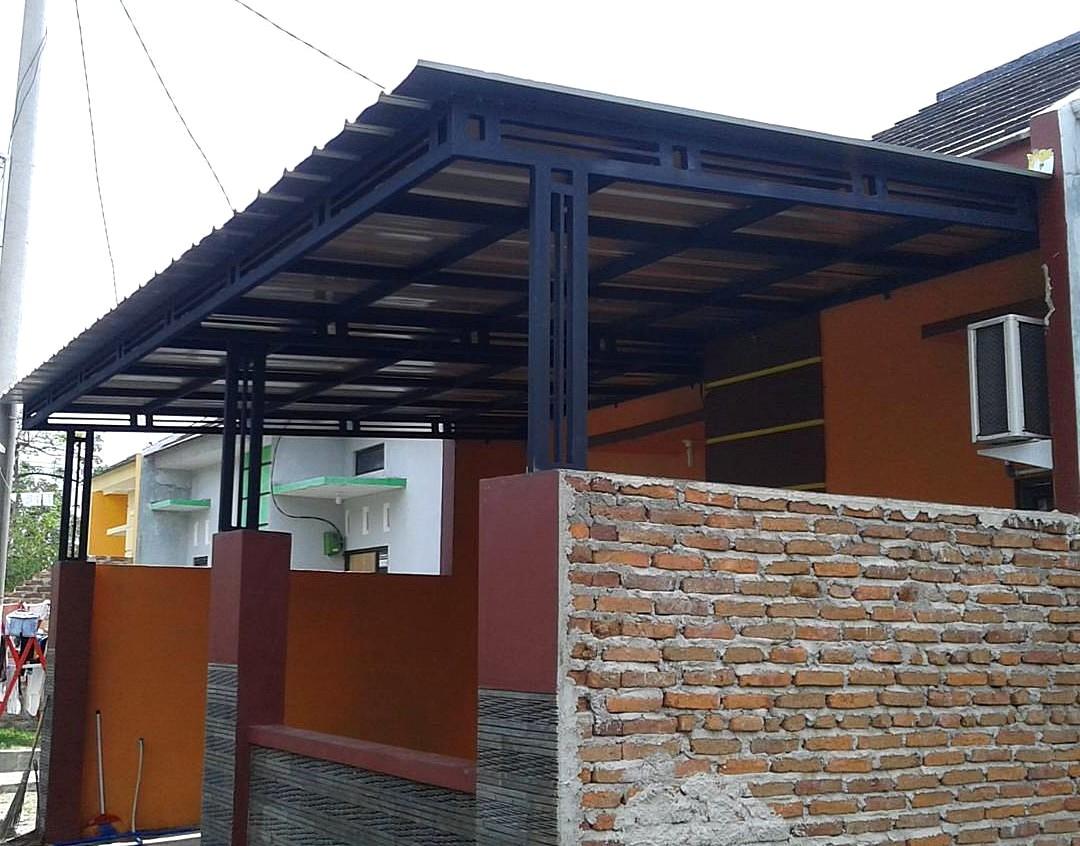 23 Model Kanopi  Terbaru Baja Ringan Rumah  Minimalis  2019