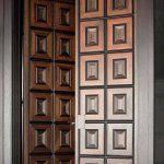Model Pintu Utama Rumah 2 Pintu Mewah Minimalis Dari Kayu