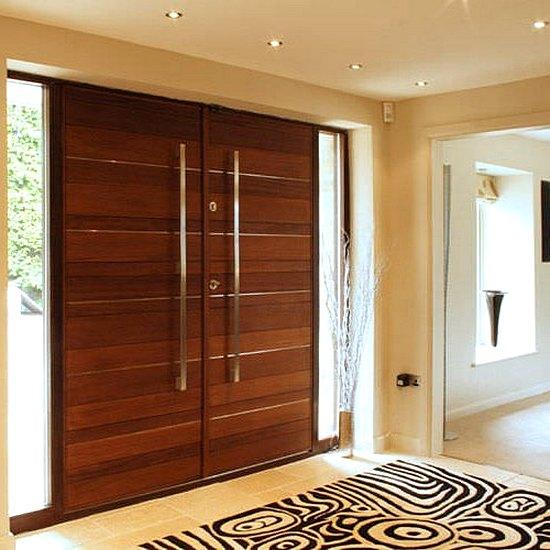 21 model pintu utama rumah minimalis 2 pintu 2017 dekor