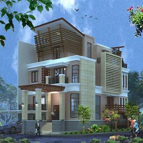38+ desain rumah mewah dan megah