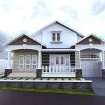 Model Rumah Minimalis 2 Lantai Yang Unik Tampak Depan