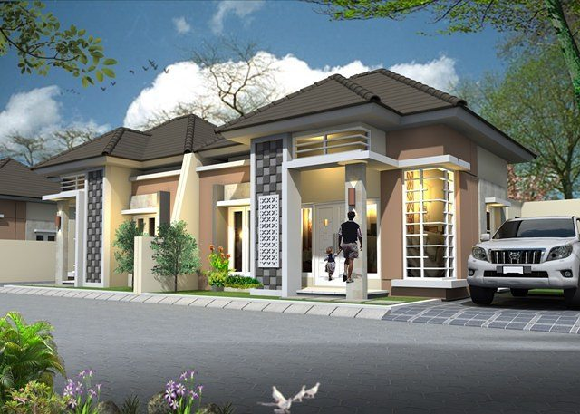 5700 Koleksi Gambar Rumah Mewah Sederhana 1 Lantai Gratis