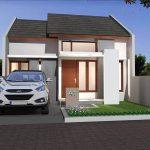 Model Rumah Minimalis Sederhana Dengan Taman Minimalis Tampak Depan
