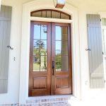 Pintu Kayu Minimalis Untuk Pintu Utama Rumah 2 Pintu