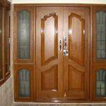 Pintu Rumah Kupu Tarung Atau Pintu Utama Rumah 2 Pintu