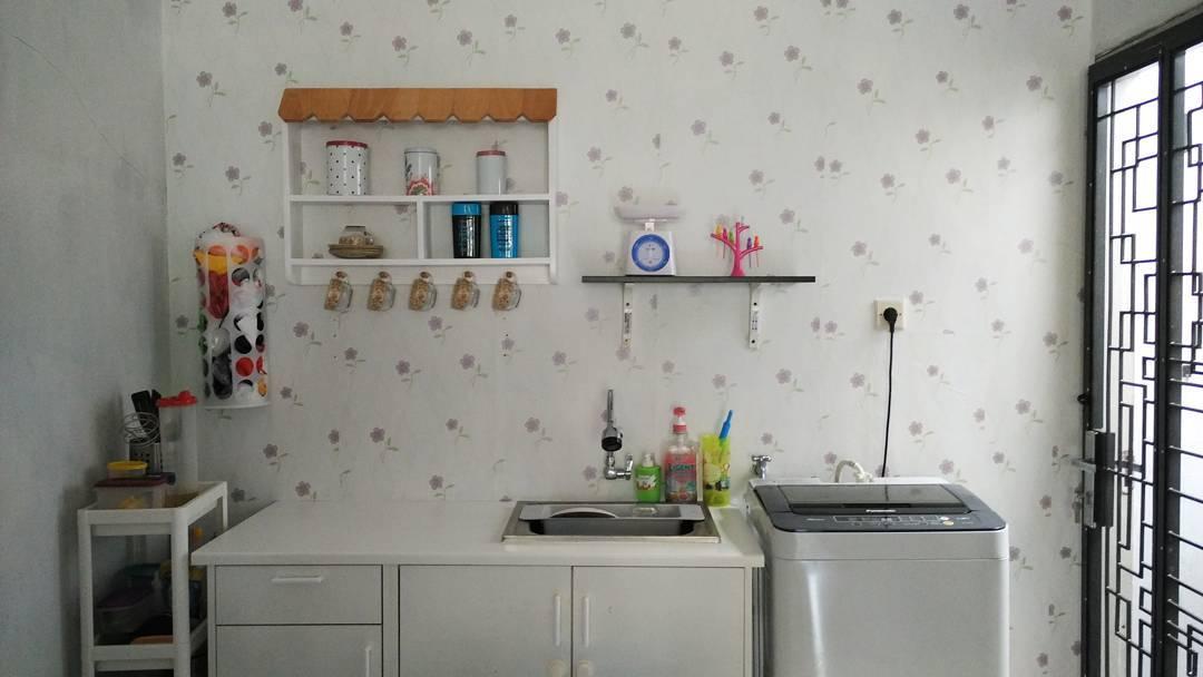 Rak gantung dinding dapur alumunium daftar update harga for Rak kitchen set minimalis