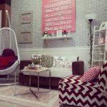 Ruang Tamu Dengan Dekorasi Hiasan Islami