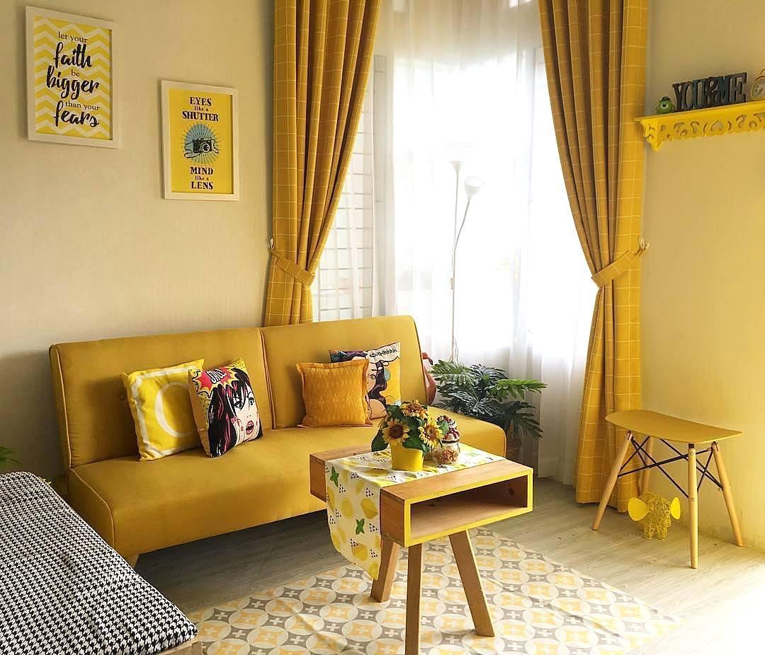 33 Desain Dan Dekorasi Ruang Tamu Sederhana Minimalis 65 Desain