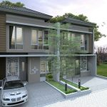 Rumah Mewah Modern Minimalis Untuk Perumahan Elit