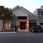 Rumah Minimalis Sederhana Bergaya Modern 1 Lantai Tampak Depan