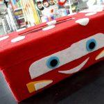 DIY Kotak Tisu Dari Kain Flanel