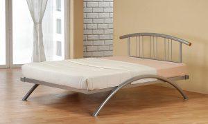 Model Ranjang Besi Modern Metal Frame Bed Designs
