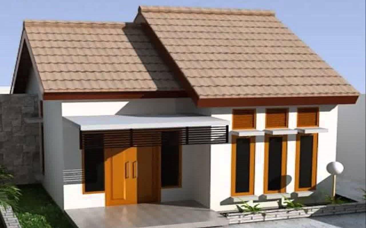 Gambar Desain Rumah Minimalis 2 Lantai Tanpa Atap