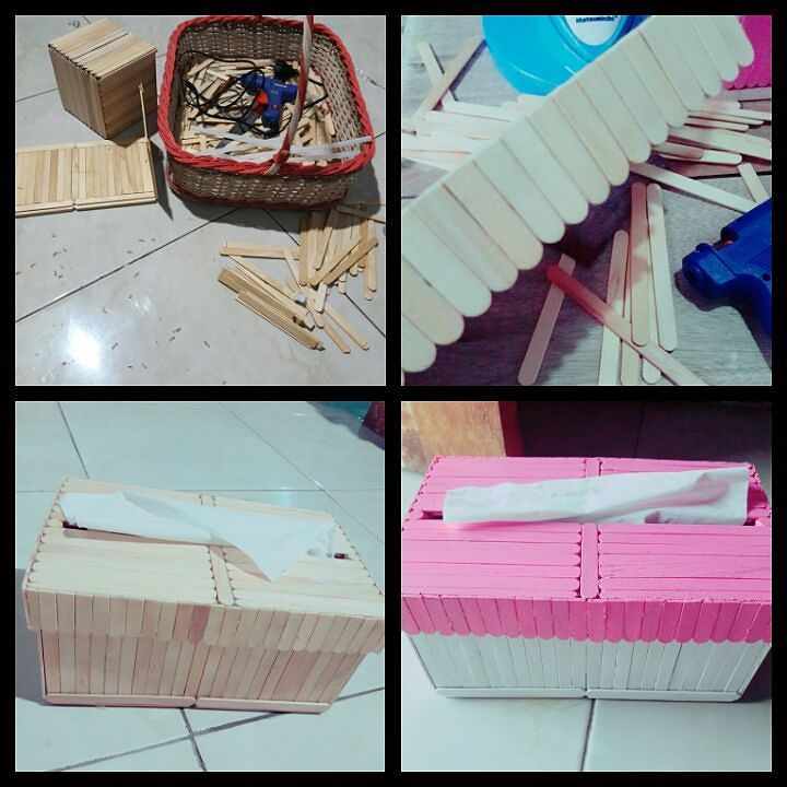 10 Ide Model dan Cara Membuat Kotak Tisu/Tempat Tisu Dari
