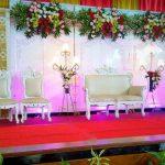 Dekorasi Gedung Pernikahan Simple Sederhana