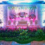Dekorasi Pelaminan Minimalis Di Halaman Rumah Terbaru Masa Kini