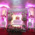 Dekorasi Pernikahan Shabby Chic Minimalis Tempat Sempit Nuansa Pink