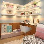 Desain Dan Dekorasi Ruang Belajar Anak Perempuan Terbaru Modern