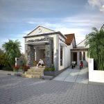Desain Gambar Rumah Minimalis Dengan Teras Batu Alam Terbaru