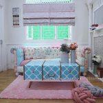 Desain Interior Ruang Tamu Mungil Shabby Chic