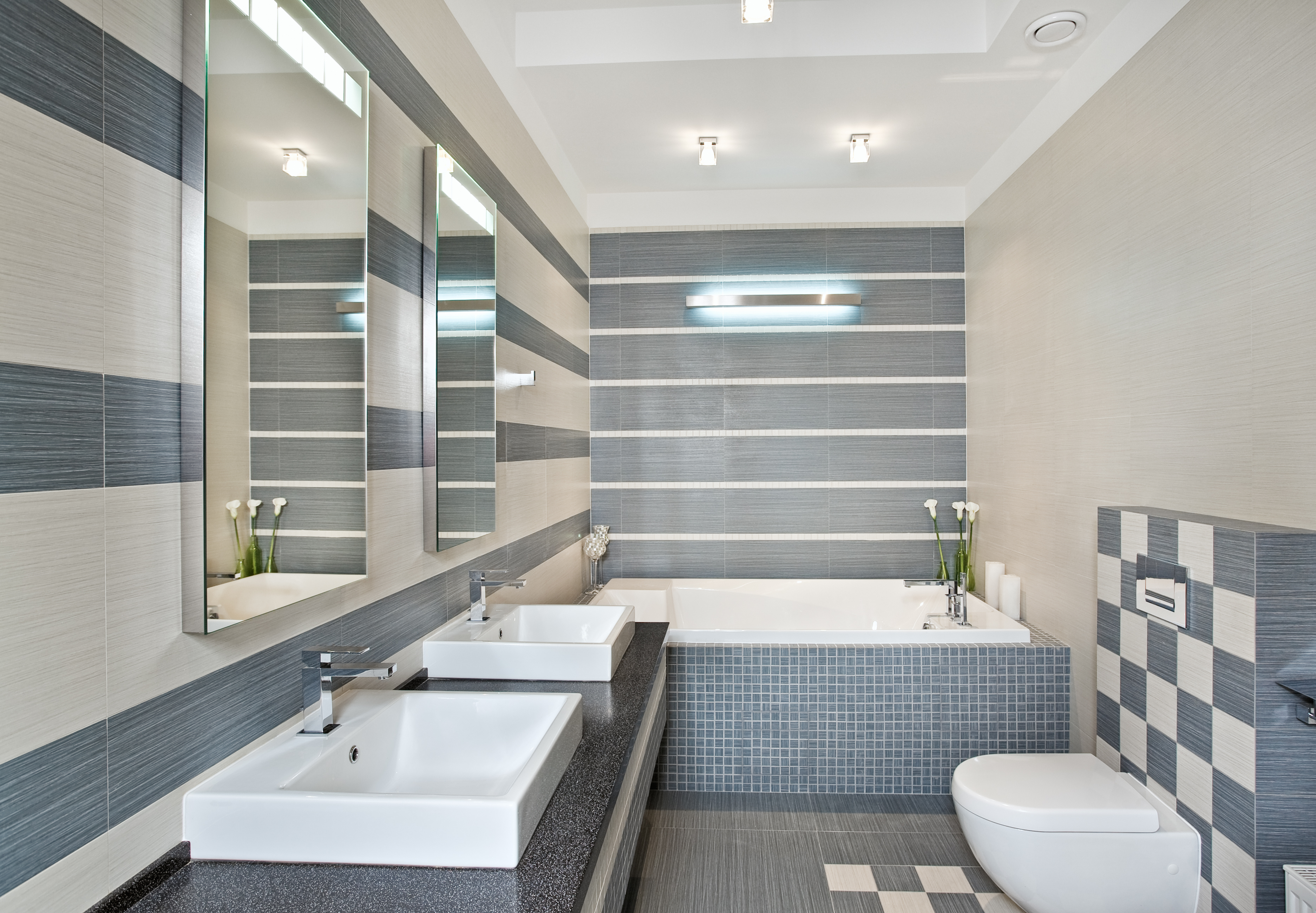 32 Model Kamar Mandi Hotel Mewah Minimalis Terbaru 2018