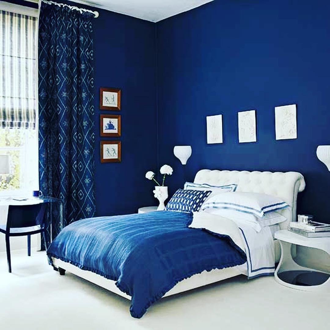 desain kamar tidur anak remaja perempuan modern warna biru doraemon