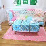 Desain Ruang Tamu Minimalis Shabby Chic