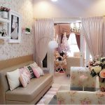 Desain Ruang Tamu Minimalis Shabby Chic Cantik