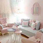 Desain Ruang Tamu Ruang Keluarga Shabby Chic