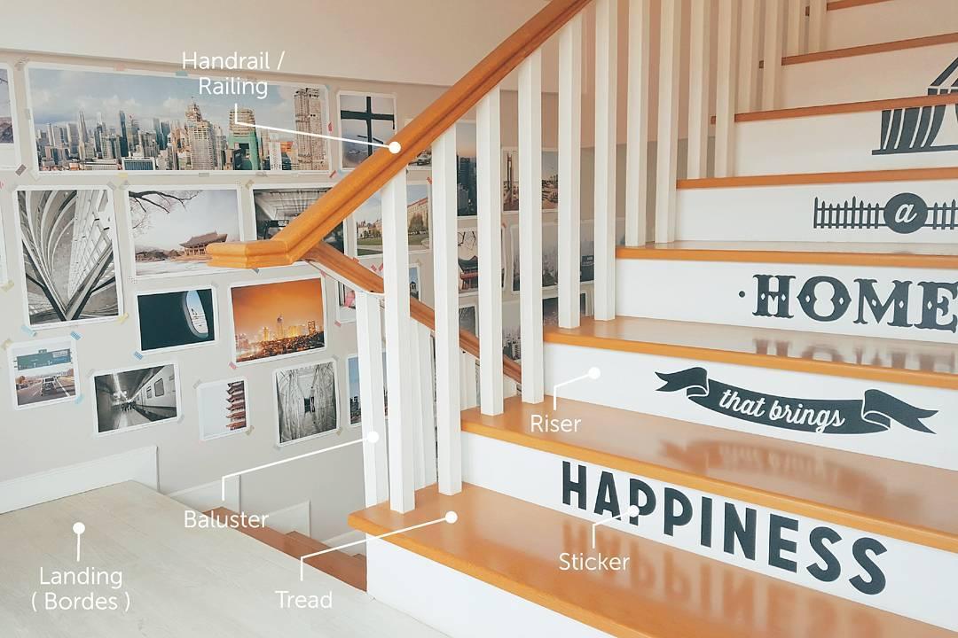 Desain Tangga Rumah Minimalis Terbaru Modern