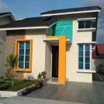Desain Teras Rumah Batu Alam Dengan Model Tiang Rumah Terbaru Dan Warna Cat Rumah Minimalis Lagi Ngetrend Disertai Taman Minimalis