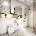 Foto Kamar Mandi Hotel Minimalis Dengan Keramik Lantai Kamar Mandi Marmer Batu Alam
