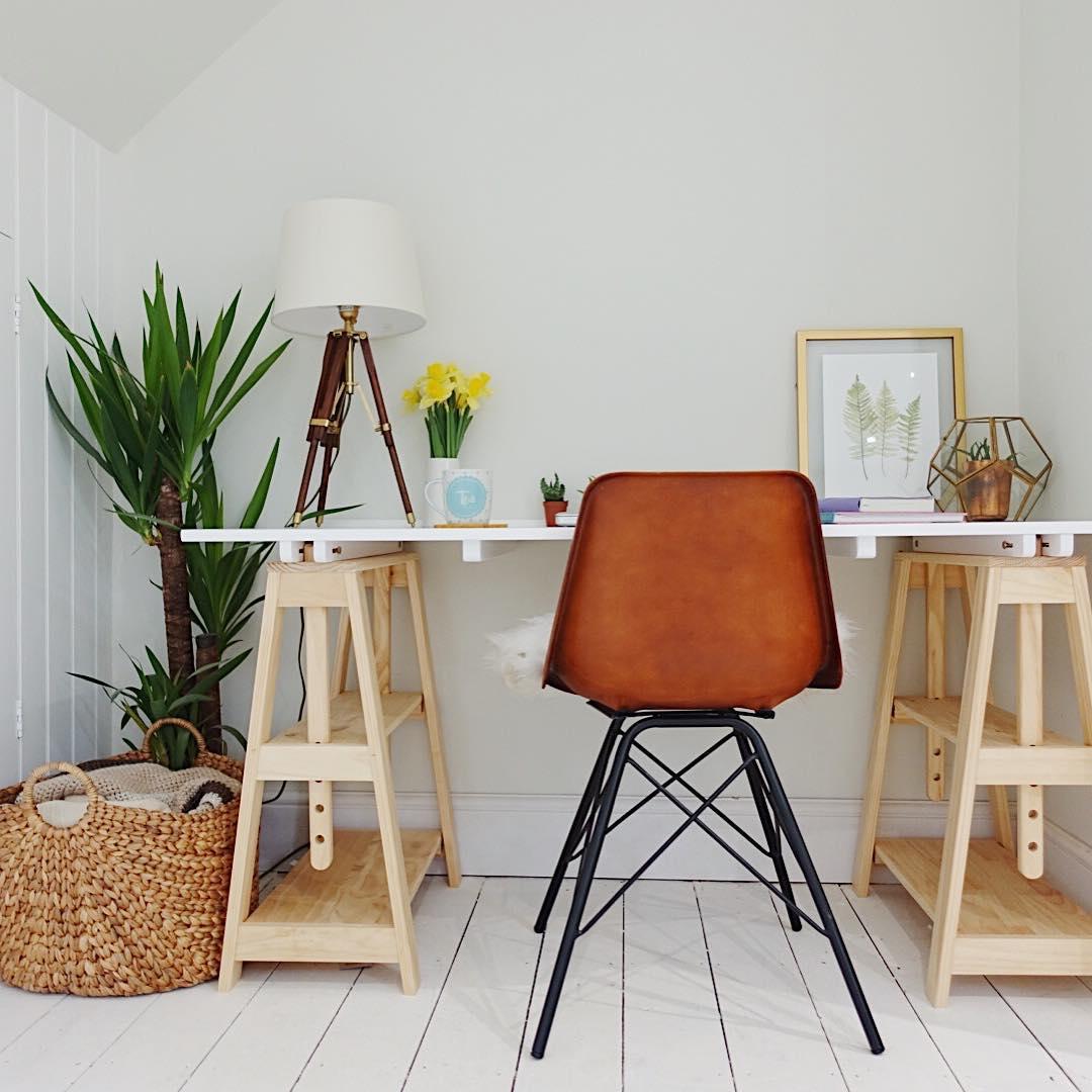 Furniture Meja Belajar Minimalis Modern