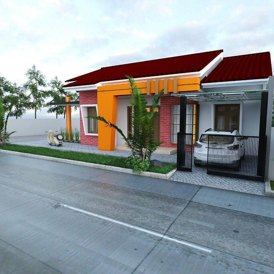 4700 Koleksi Desain Taman Pinggir Rumah HD Terbaik