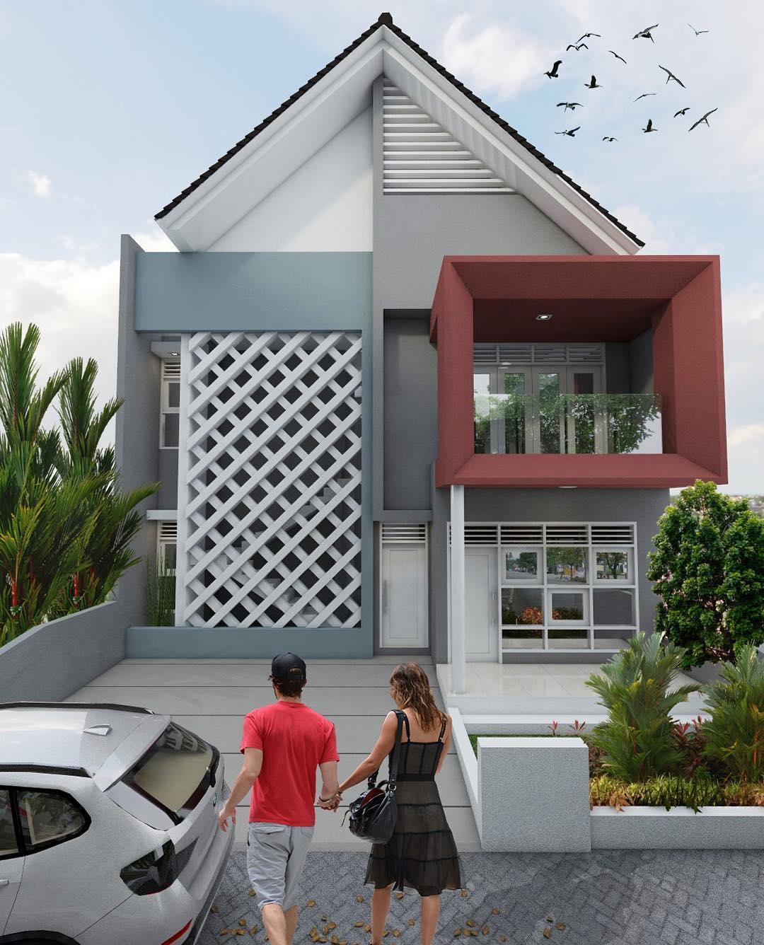 Gambar Model Rumah Minimalis Modern Terbaru Paling Elegan