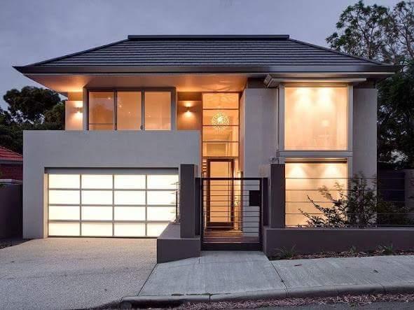 18 gambar rumah minimalis tampak depan lahan sempit