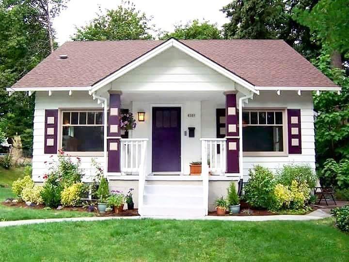 18 gambar rumah minimalis tampak depan lahan sempit for Small house design village