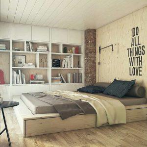 40 desain kamar tidur sederhana tapi unik keren terbaru