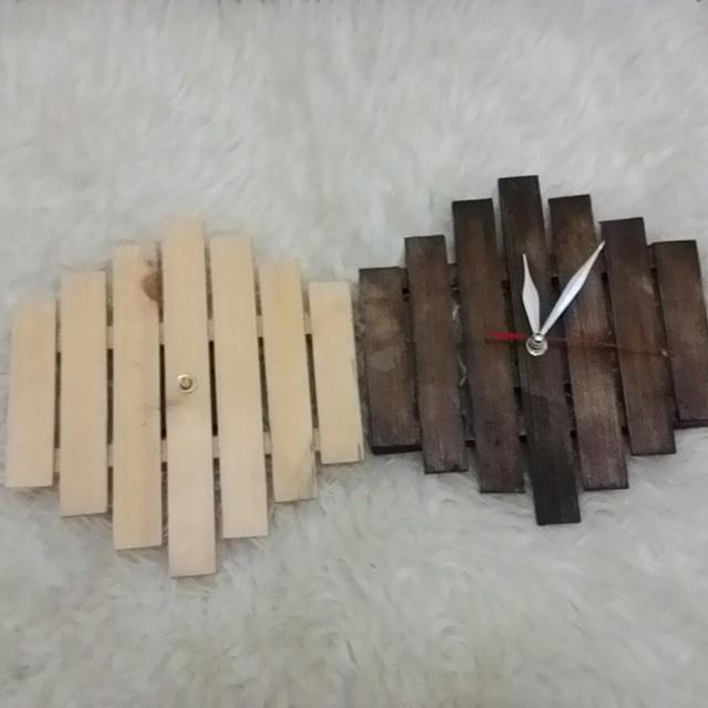 7 Ide dan Cara Membuat Jam Dinding Dari Stik Es Krim