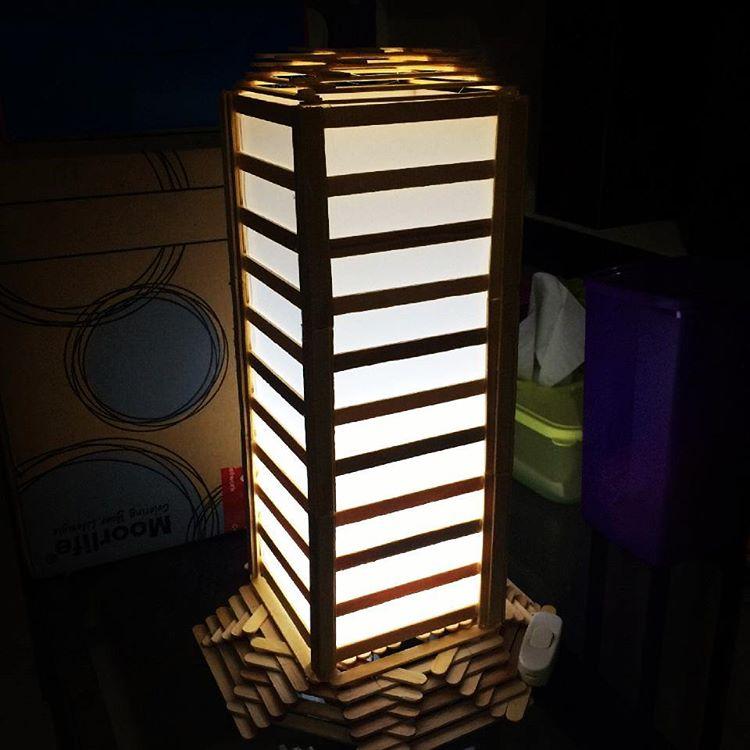 86 Gambar Lampion Dari Stik Es Krim