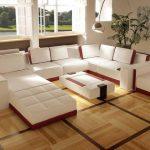 Keramik Lantai Motif Kayu Ruang Tamu Rumah Minimalis