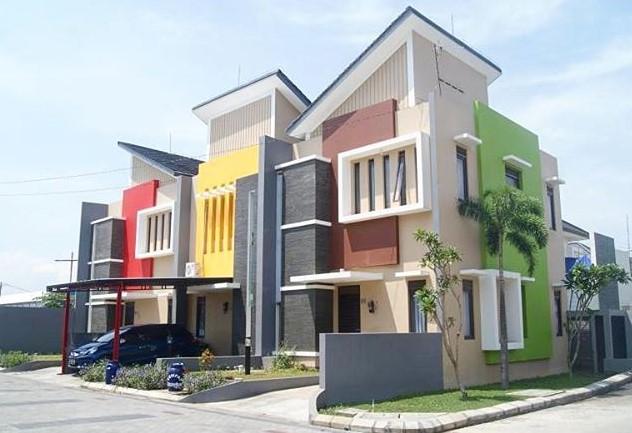 Kombinasi Warna Cat Rumah Warna Cat Luar Rumah