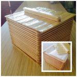 Kotak Tisu Dari Stik Es Krim Buatan Sendiri