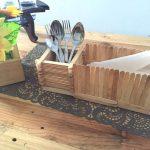 Kotak Tisu Dari Stik Es Krim Kerajinan Tangan
