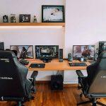 Kursi Komputer Gaming Dan Meja Komputer Minimalis Murah