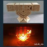 Lampion Dari Stik Es Krim Prakarya Dari Stik Es Krim