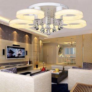 25 model lampu hias ruang tamu minimalis terbaru 2021